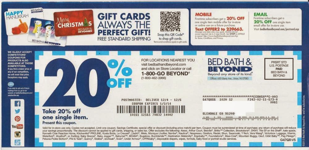 bed bath and beyond printable coupon 2015 how do you drip your marketing the marketing 20574 | Bed Bath and Beyond Coupon1